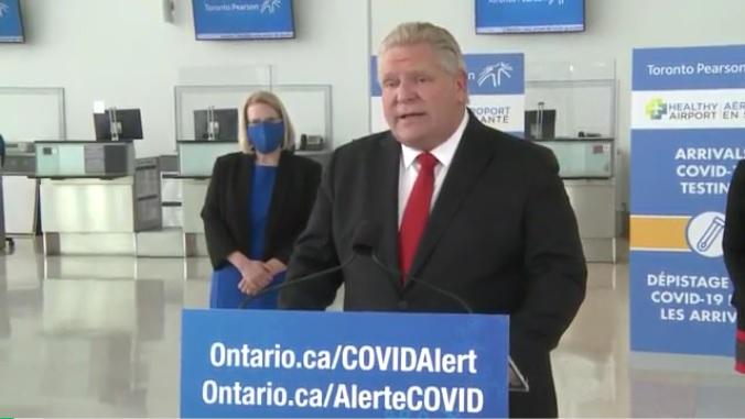 多伦多机场开始免费检测入境旅客