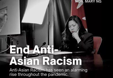 加拿大总理特鲁多: 针对亚裔的种族主义行为近期上升,我们须团结起来同反对